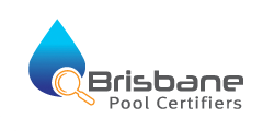 logo brisbane pool white